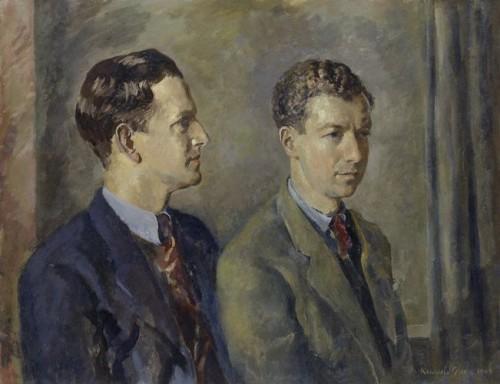 NPG 5136, Sir Peter Neville Luard Pears; (Edward) Benjamin Britten, Baron Britten