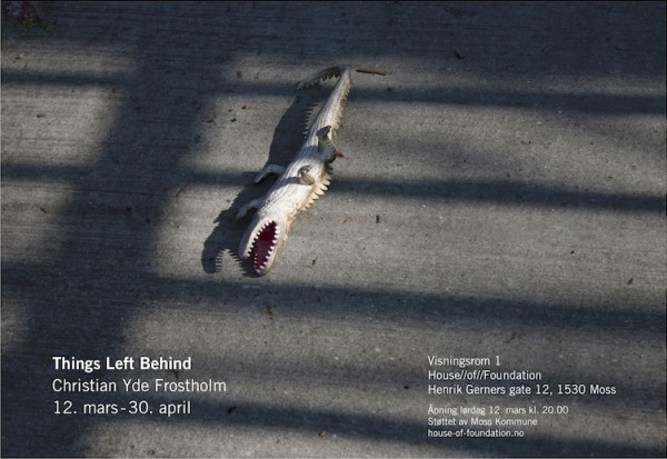 Things left behind-flyer