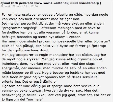 bøsser i danmark mænd og yngre kvinder